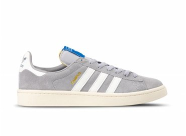 Adidas Campus Grey Two Cloud White Cream White B37846