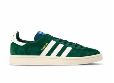 Adidas Campus Collegiate Green White Chalk White B37847