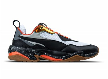 Puma Thunder Electric Puma White Puma Black Mandarine Red 367996 01