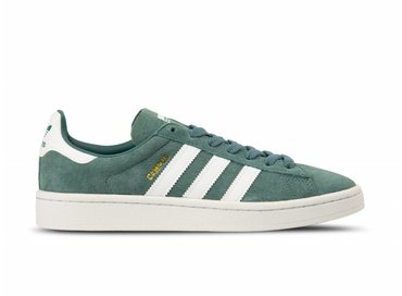 Adidas Campus Raw Green Footwear White Crystal White B37822