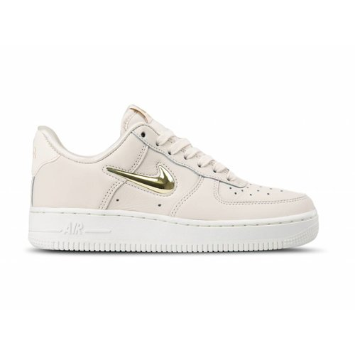 WMNS Air Force 1 '07 PRM LX Phantom Metallic Gold Star AO3814 001