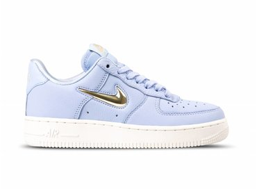 Nike WMNS Air Force 1 '07 PRM LX Royal Tint Metallic Gold Star AO3814 400