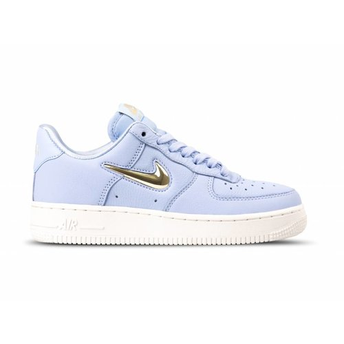 WMNS Air Force 1 '07 PRM LX Royal Tint Metallic Gold Star AO3814 400