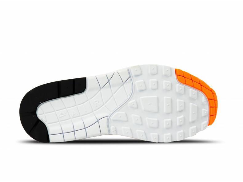 WMNS Air Max 1 Lux Total Orange White Black 917691 800