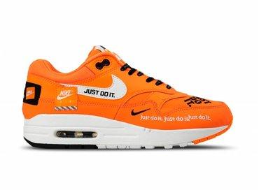 Nike WMNS Air Max 1 Lux Total Orange White Black 917691 800