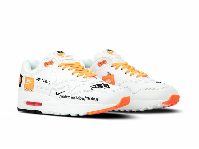 low priced 11b04 fbe50 WMNS Air Max 1 Lux White Black Total Orange 917691 100