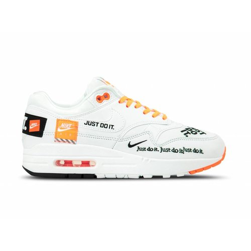 Nike Air Max 1 Lux Just Do It White JDI Casual Shoes 917691