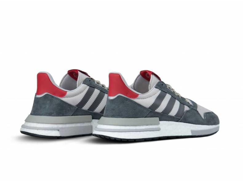 741b0d3fa81f2 Adidas ZX 500 RM Grey Four Footwear White B42204