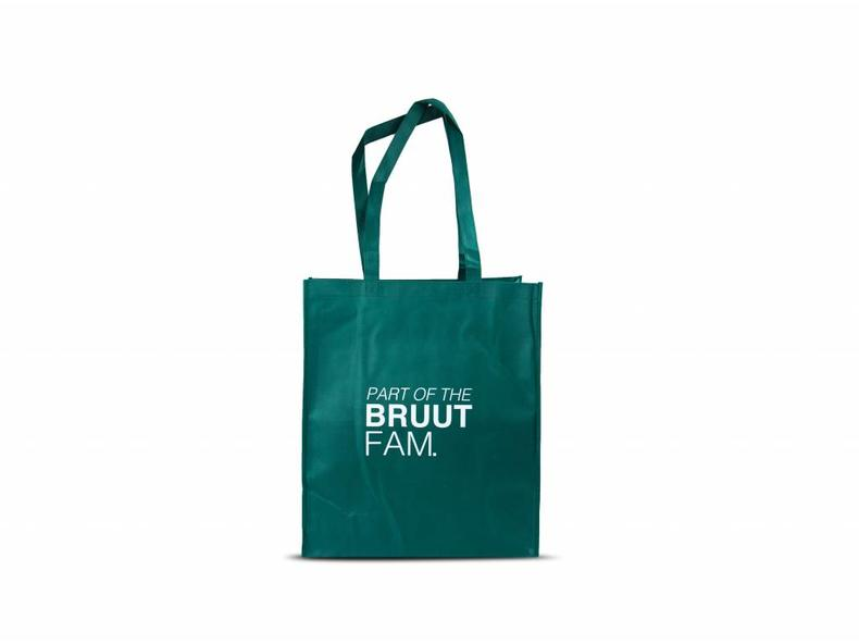 Exclusive Totebag Dark Green/White