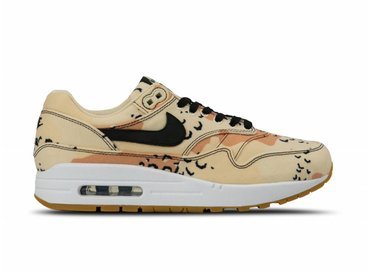 Nike Air Max 1 PRM Beach Black Praline Light Cream 875844 204