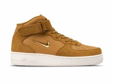 Nike Air Force 1 Mid '07 LV8 Muted Bronze Metallic Gold 804609 200