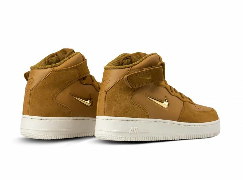 Air Force 1 Mid '07 LV8 Muted Bronze Metallic Gold 804609 200