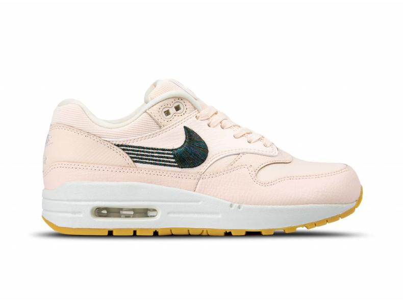 cheap for discount 8d350 f5415 WMNS Air Max 1 PRM Guava Ice Guava Ice Gum Yellow 454746 800