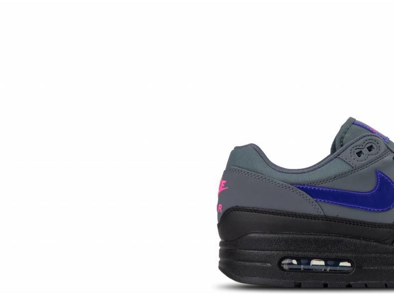 low priced 057c0 67a69 Air Max 1 Dark Grey Fierce Purple Black AR1249 002