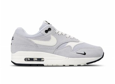 Nike Air Max 1 Premium Pure Platinum Sail Black White 875844 006