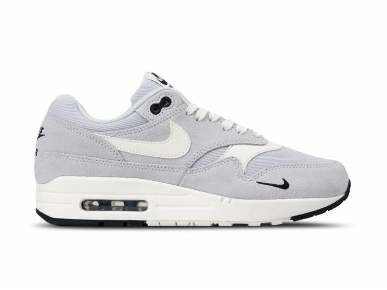 huge selection of 9bbb5 e02f4 Air Max 1 Premium Pure Platinum Sail Black White 875844 006