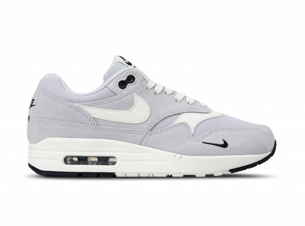 big sale dddda aa538 Air Max 1 Premium Pure Platinum Sail Black White 875844 006 will be added  to your shopping card