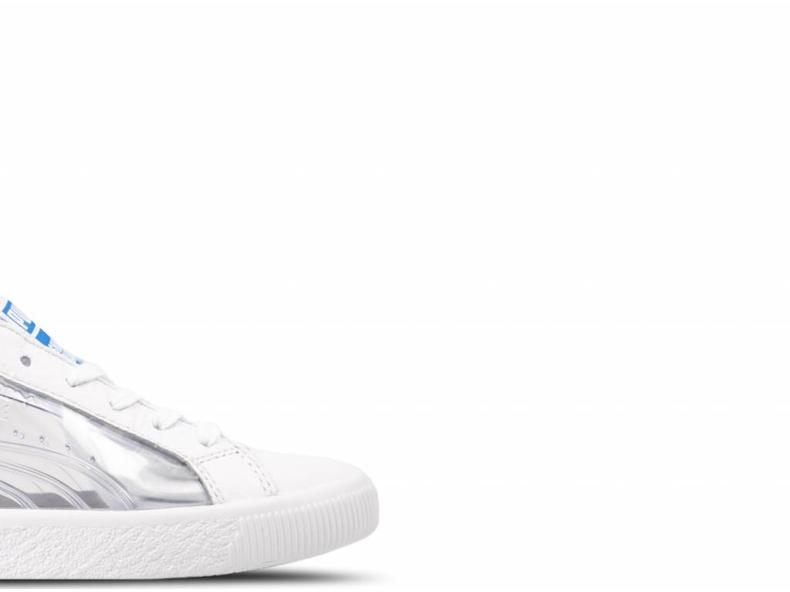 Clyde Clear SM Puma White Puma White 365898 01
