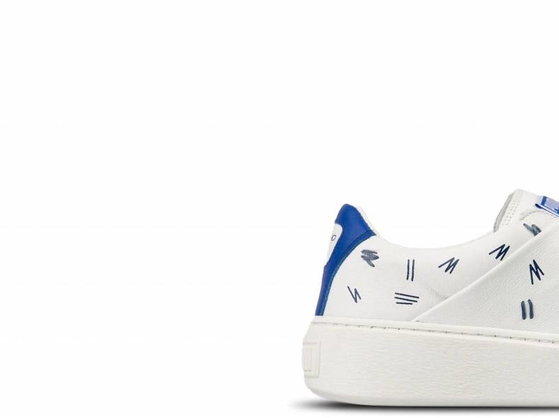 Platform Slip On SM Puma White Nebulas Blue 365900 01