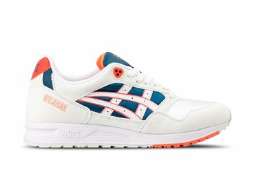 ASICS Gel Saga White Flash Coral 1193AO71 102