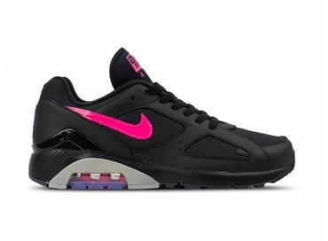 Nike Air Max 180 Black Pink Blast Wolf Grey AQ9974 001