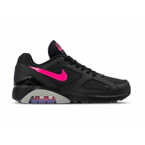 Air Max 180 Black Pink Blast Wolf Grey AQ9974 001