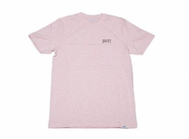Bruut HFD Classic Logo Tee Rose Heather HFD004