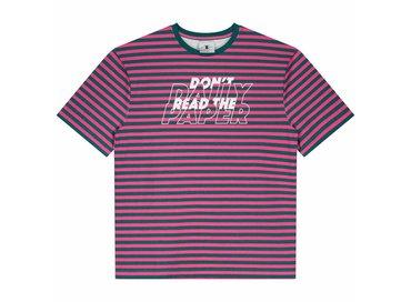 Daily Paper Doam Petrol Pink Stripe 18F1TS23