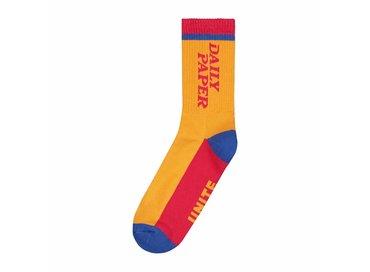 Daily Paper Daldi Socks Light Yellow 18F1AC16