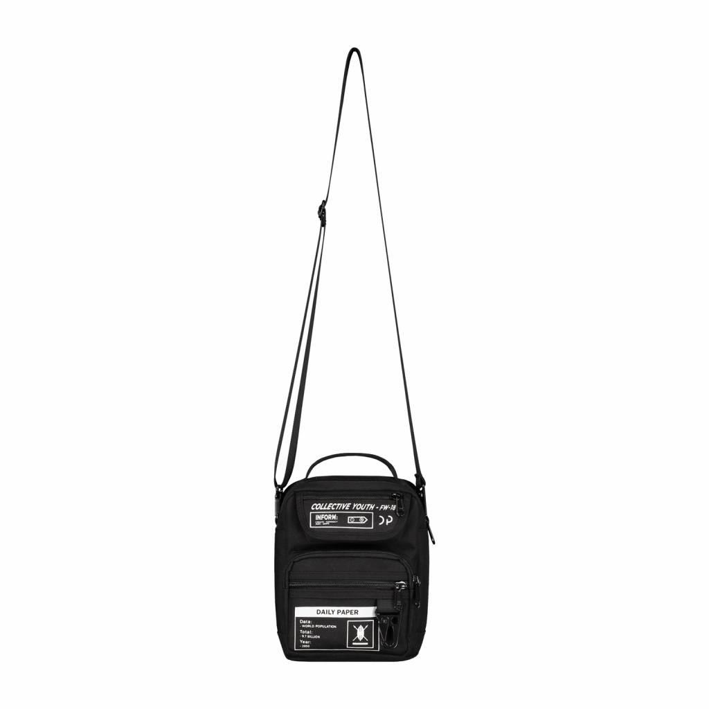 897eb9a5965 Daily Paper Midi Bag Black 18FA1AC02