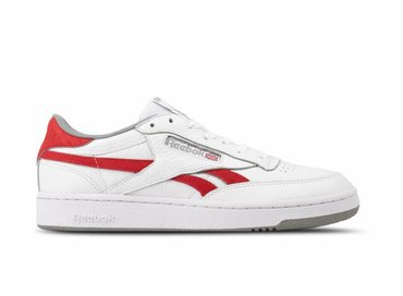 Reebok Revenge Plus Mu M  White Primal Red Tin Grey CN3396