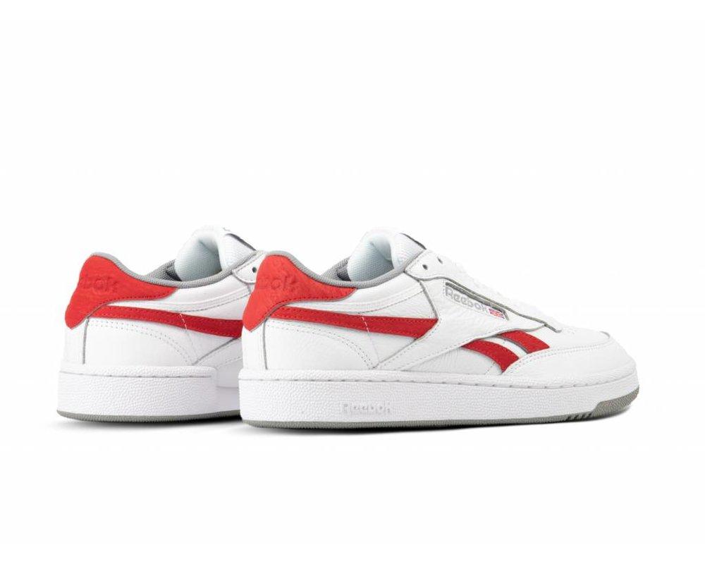 Reebok Revenge Plus Mu M  White Primal Red Tin Grey CN3396