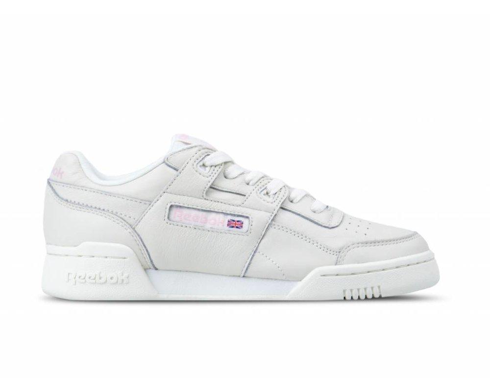 Reebok Workout Lo Plus White Practical Pink CN4610