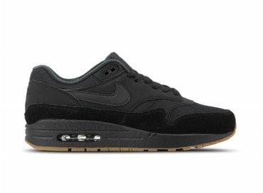 huge selection of 86269 d273f Nike Air Max 1 Black Black Gum Med Brown AH8145 007