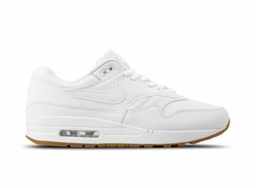 Nike Air Max 1 White White Gum Med Brown AH8145 109