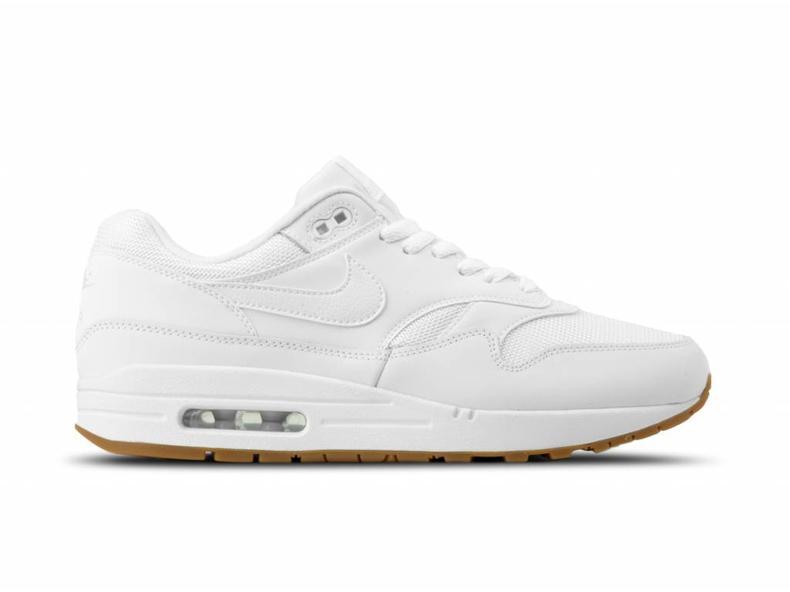 c9024151a1aa Nike Air Max 1 White White Gum Med Brown AH8145 109