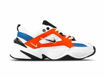 Nike M2K Tekno Summit White Black Team Orange AV4789 100