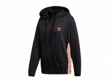 Adidas Zip Hoodie Black DH4665