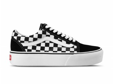 Vans Old Skool Platform Checkerboard Black True white VN0A3B3UHRK