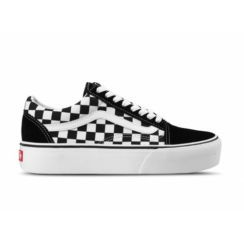 Old Skool Platform Checkerboard Black True white VN0A3B3UHRK