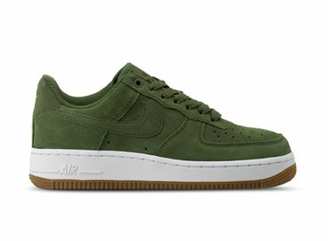 Nike W Air Force 1 '07 Medium Olive White AV5191 201