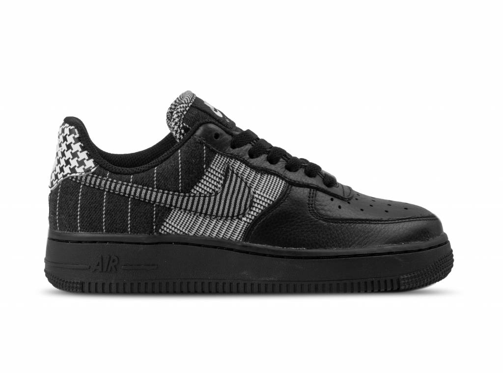 f116ba30560a8e W Air Force 1 LO Black Black White AT0062 001 will be added to your  shopping card