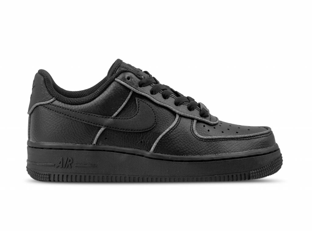 a94bc27d9a85 W Air Force 1 LO Black Black White AT0073 001 will be added to your  shopping card