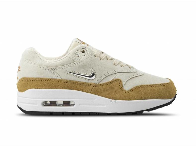 25fa4c212c0 Nike W Nike Air Max 1 Premium SC Beach Metallic Gold Grain AA0512 ...