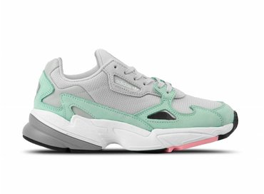 Adidas Falcon Grey Grey Ease Green B28127