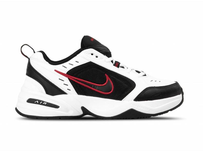 a28c7d0d20c797 Nike Air Monarch IV White Black 415445 101