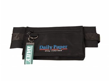 Daily Paper Corset Waistbag Nylon Black 18F2OAC01