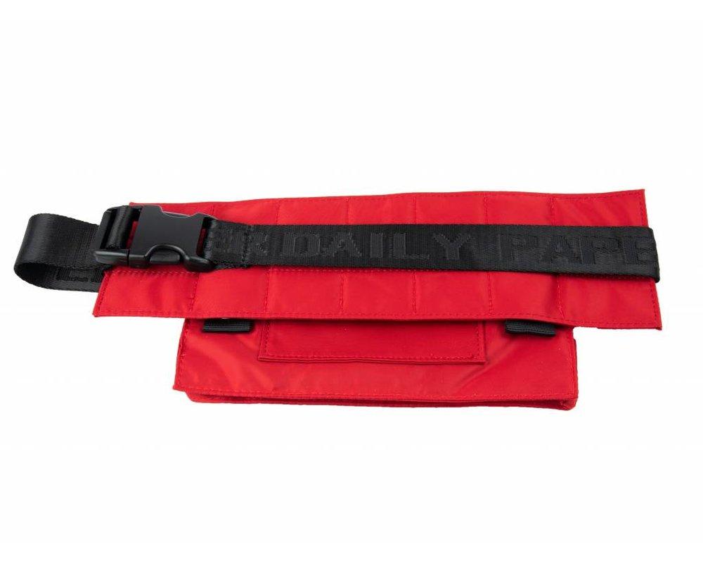 Daily Paper Corset Waistbag Nylon Dark Red 18F2OAC02