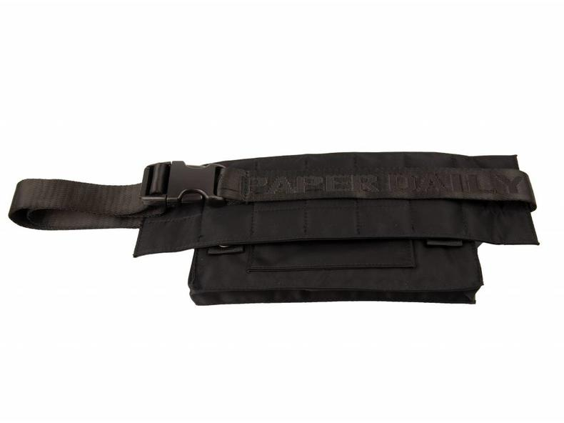 085a764fa9d Daily Paper Corset Waistbag Nylon Black 18F2OAC01