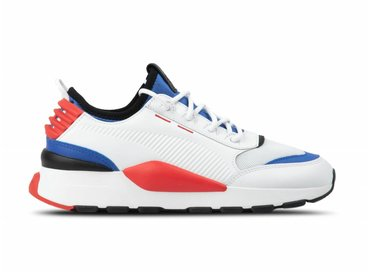 Puma RS 0 Sound  White Dazz Blue High Risk Red 366890 01